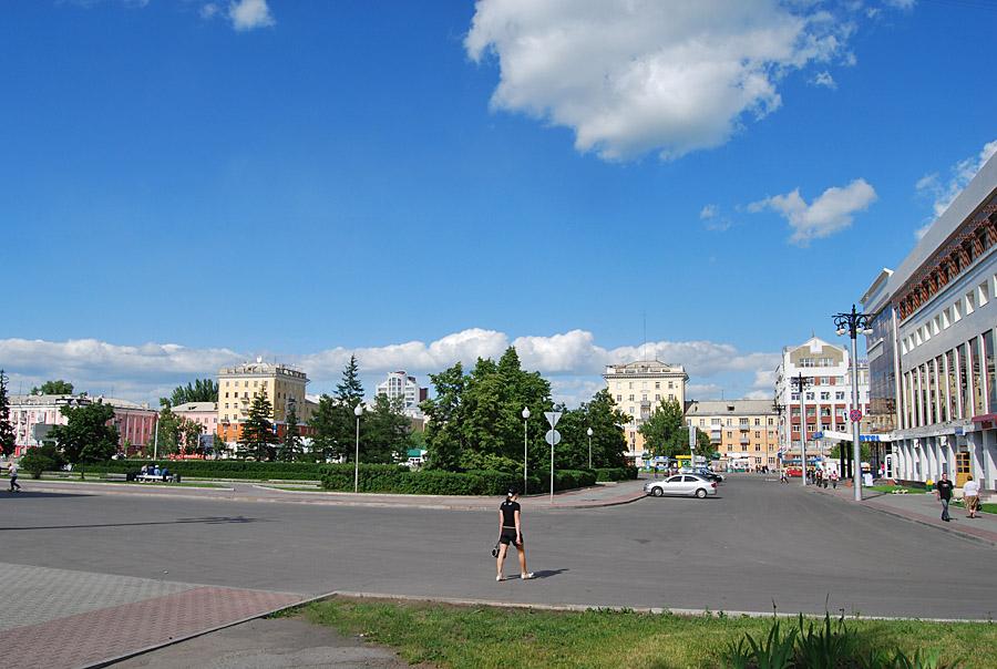 Барнаул. Площадь Советов