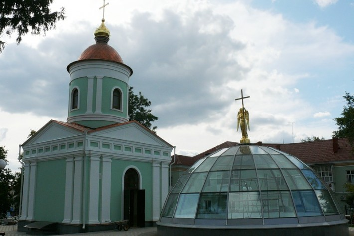 Белгород. Часовня Иоасафа