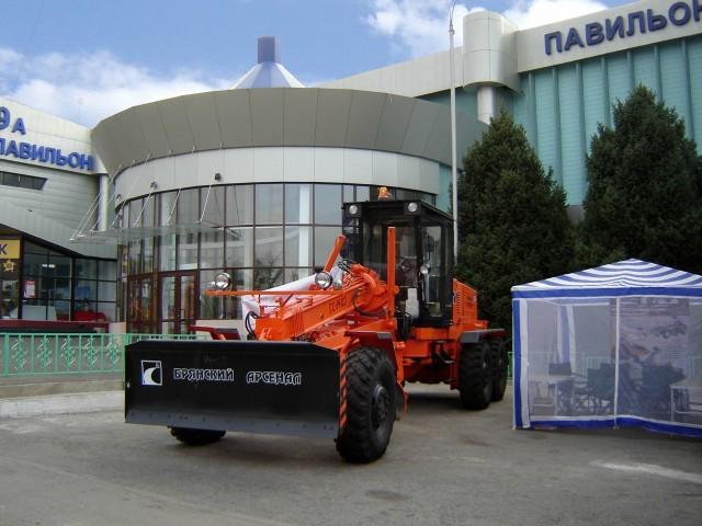 Презентация продукции Брянского завода ДорМаш на выставке дорожных машин в Алматы