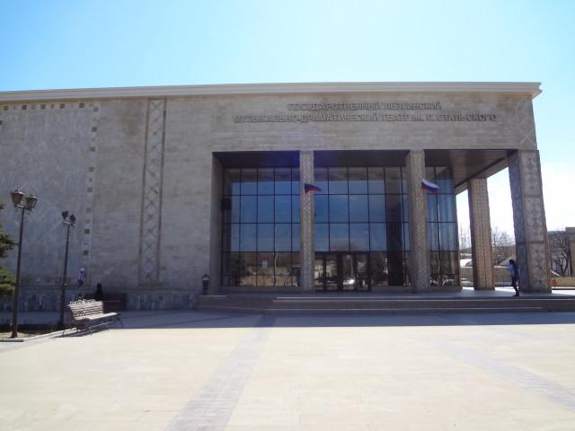 Здание Лезгинского театра