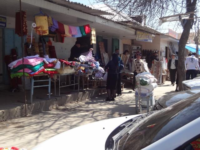 Уличная торговля в городе