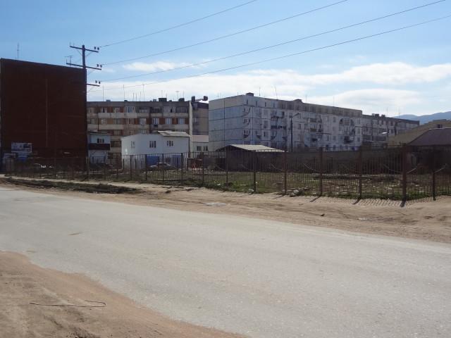 Многоэтажные дома в районе карьера (ул. Х. Тагиева)
