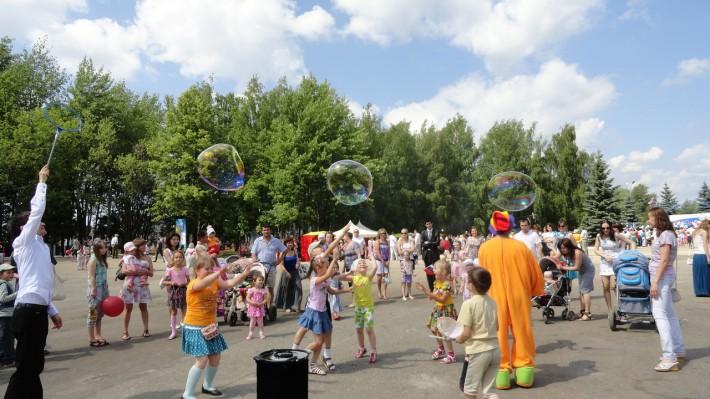 День России в парке 500-летия города Чебоксары