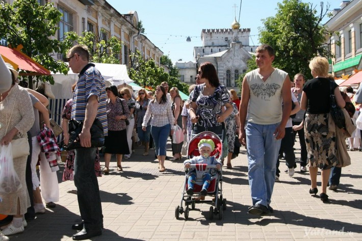 Город Ярославль: климат, экология, районы, экономика ...