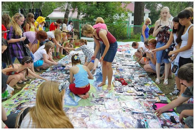 Детская ярмарка на празднике