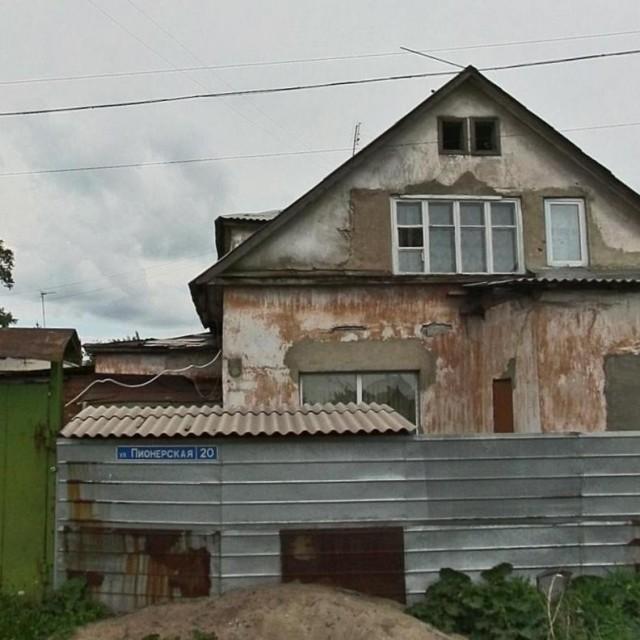 Дом на улице Пионерской