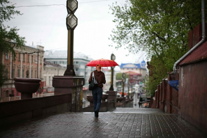 Дождь в Томске