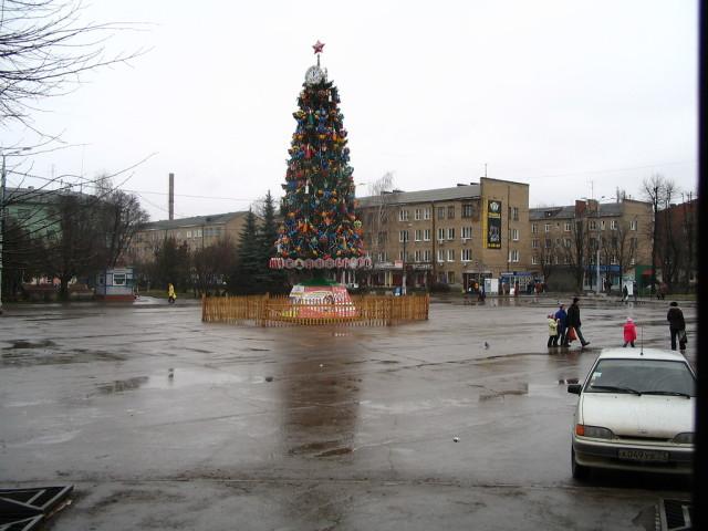 Елка в 2012 году