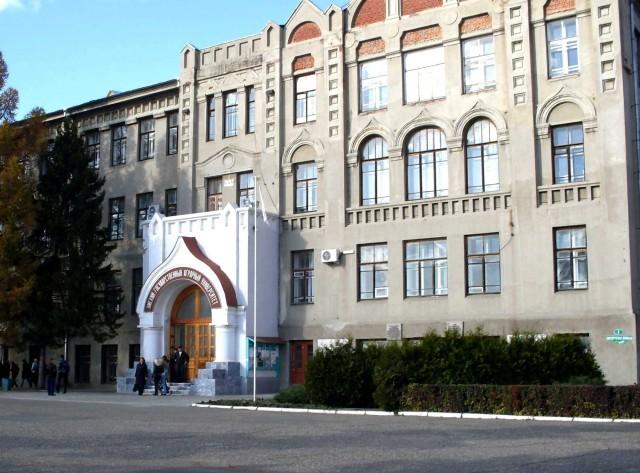 Главное здание Омского Государственного Аграрного Университета
