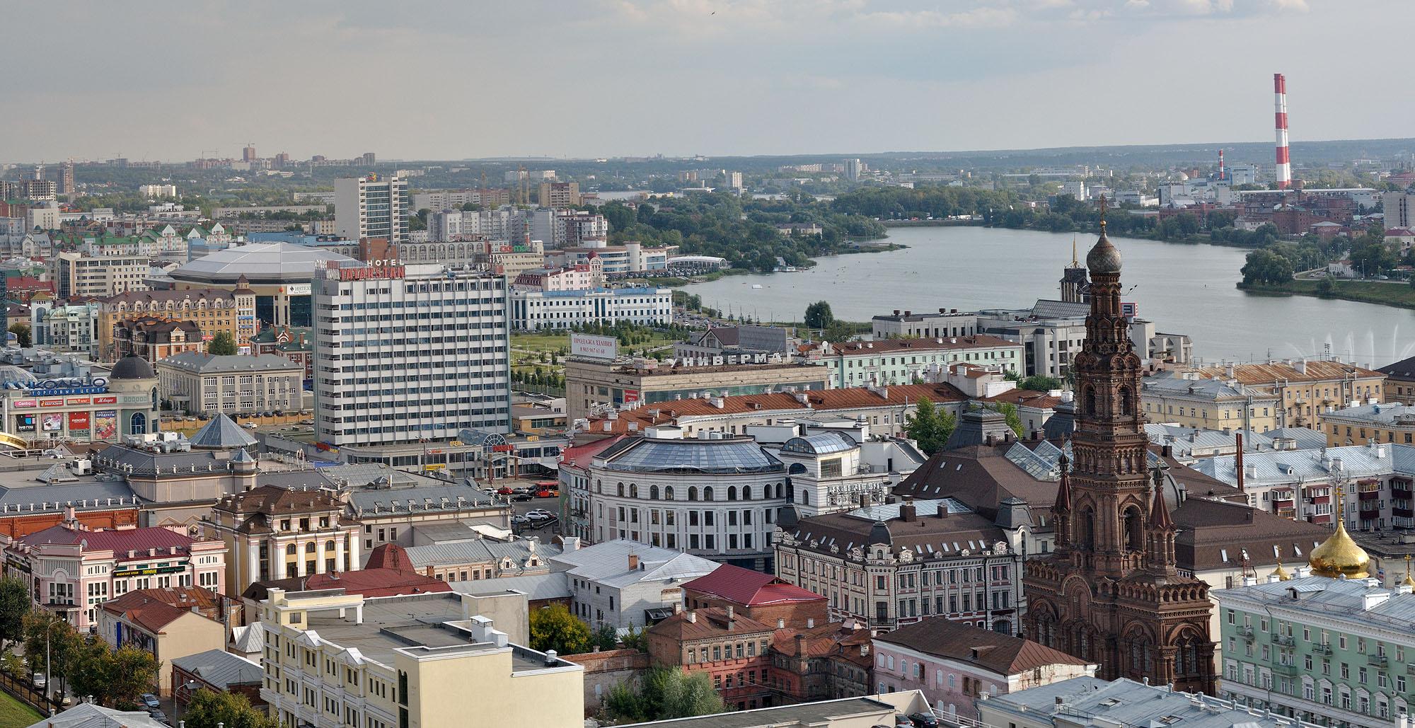 Город Казань климат экология районы экономика