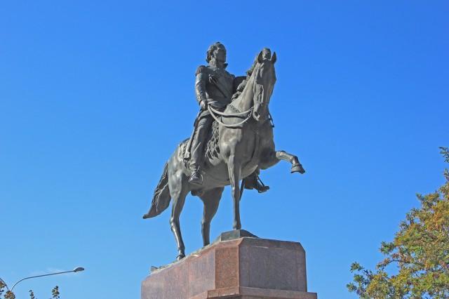 Конный памятник атаману М.И.Платову