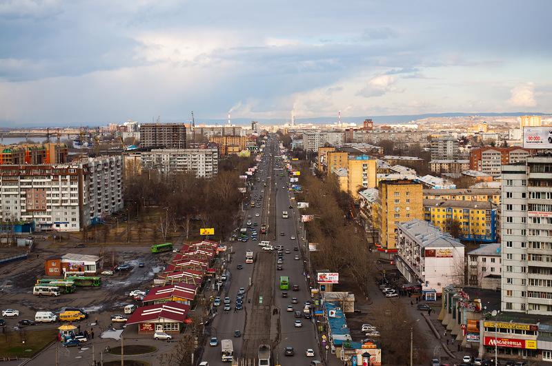 Красноярск. Красраб