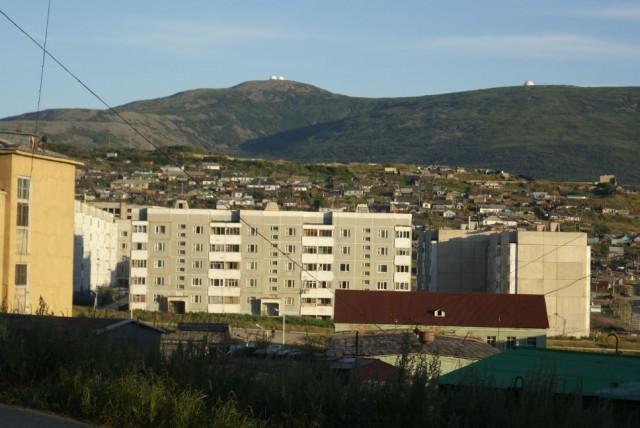 Магадан. Марчекан