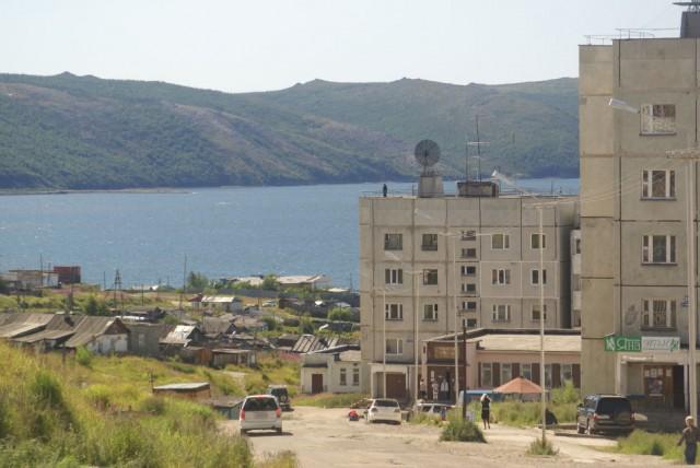 Магадан. Нагаево