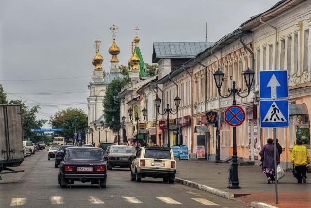 Муром. Улица Московская