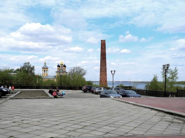 Муром. Видовая площадка в парке