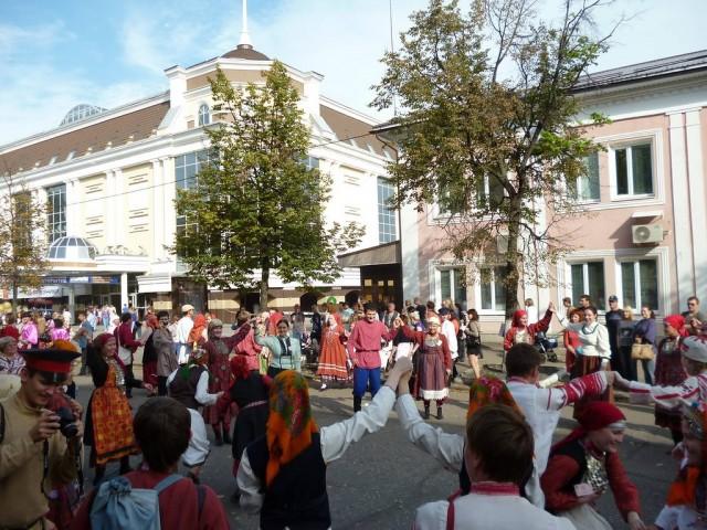 Народные гуляния на День города, Пенза, 2012