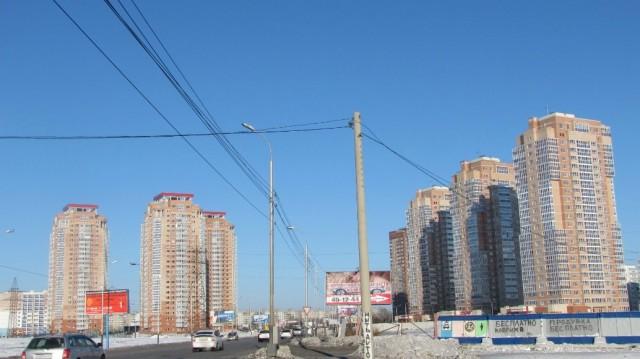Новые высотки в Хабаровске