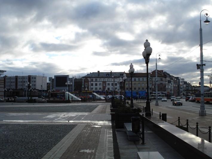 Обычная погода для Калининграда