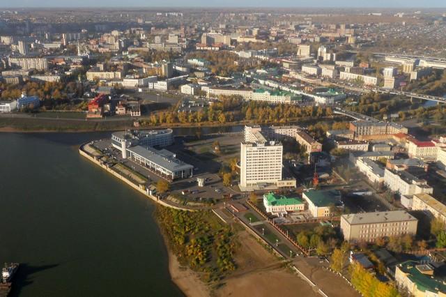 Омск. Речной вокзал