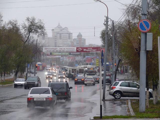 Оренбург. Транспорт