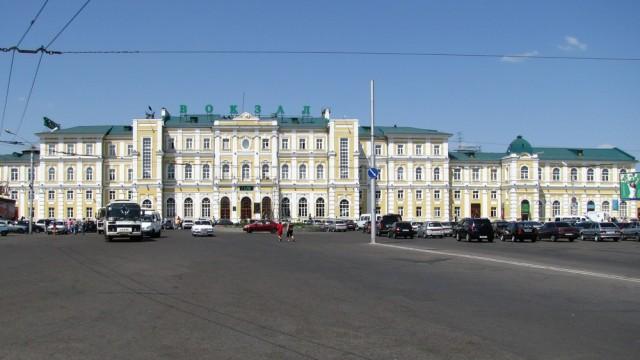 Оренбург. Вокзал
