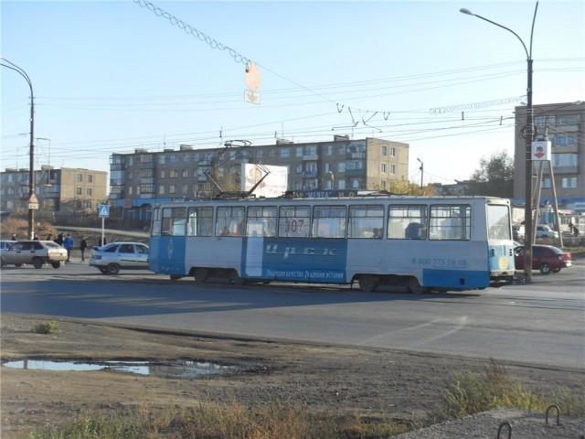 Орск.Трамвай