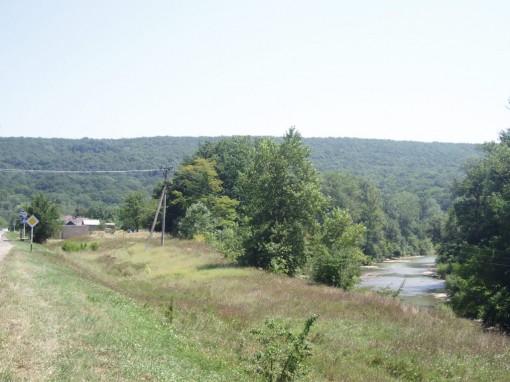 Вид на наш участок. Лето 2010