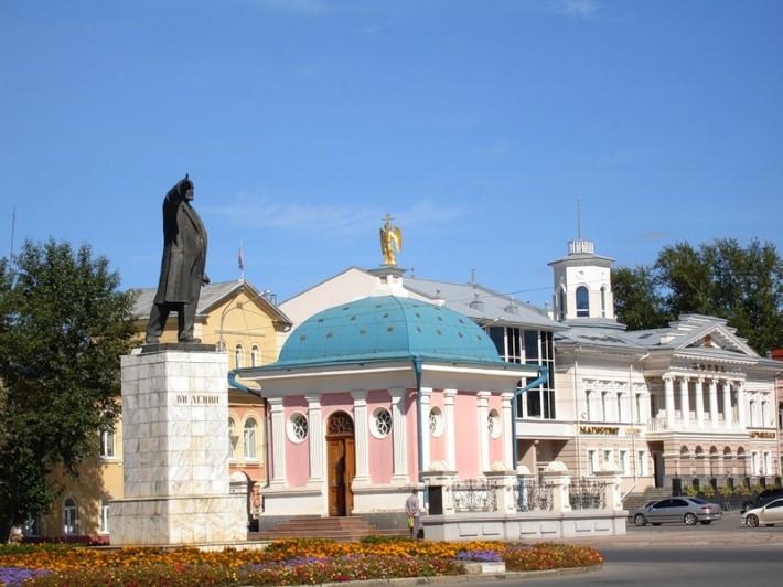 Памятник Ленину в Томске