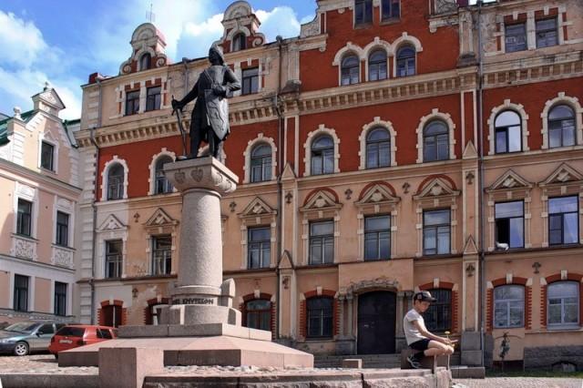 Памятник Торгильсу Кнутсону