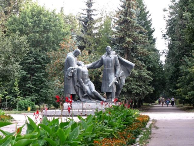 Памятник павшим в ВОВ