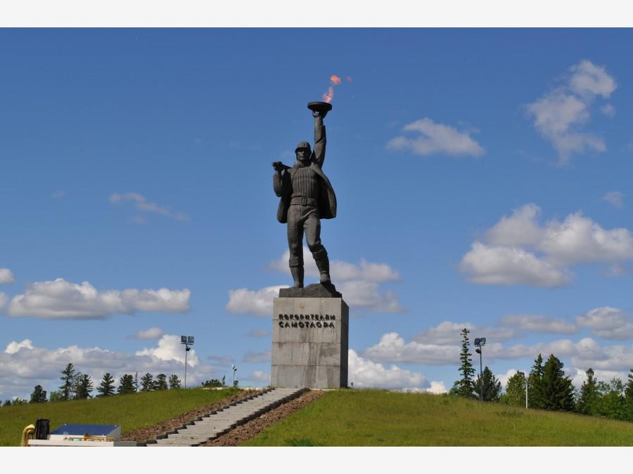 """Памятник """"Покорителям"""