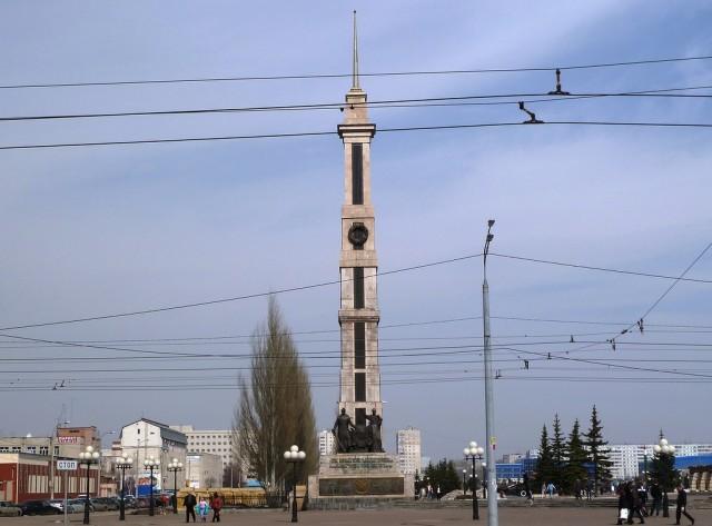 Парк Победы Ново-Савиновского района