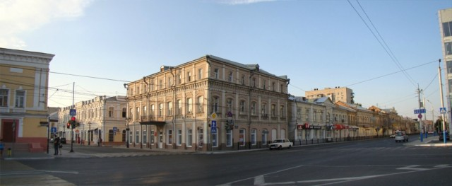 Астрахань. Пересечение улиц Никольской и Адмиралтейской