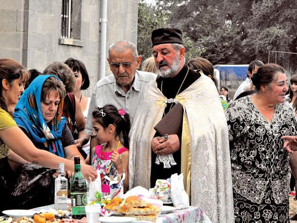 Празднество в честь святого Григория, устраиваемое армянской общиной