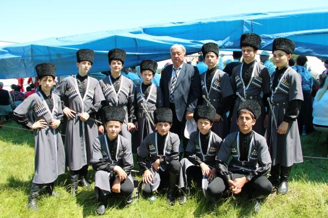 Праздник осетинской песни 2012