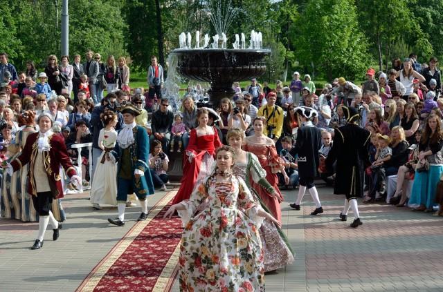 Праздник в Рыбинске