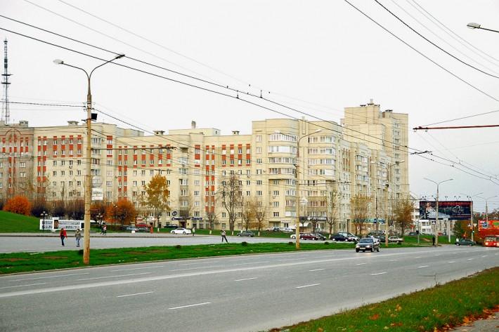 Проспект Мира во Владимире