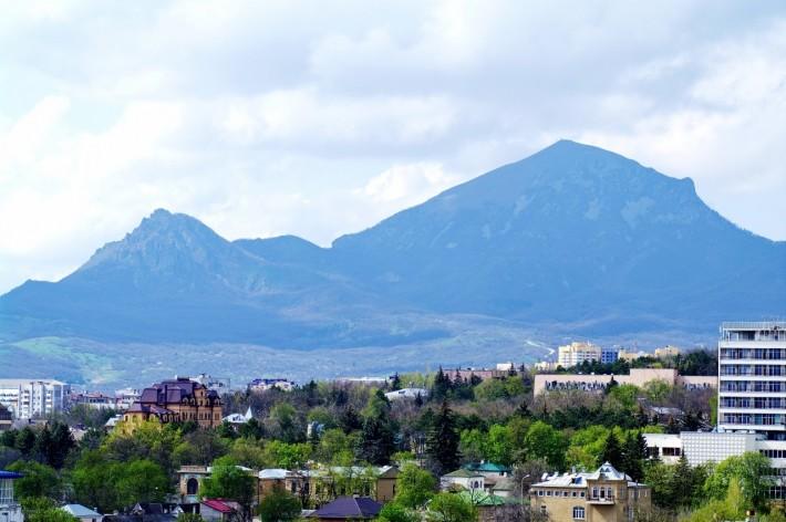 Пятигорск на фоне Бештау