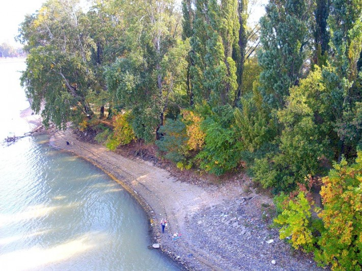 Краснодар. Река Кубань