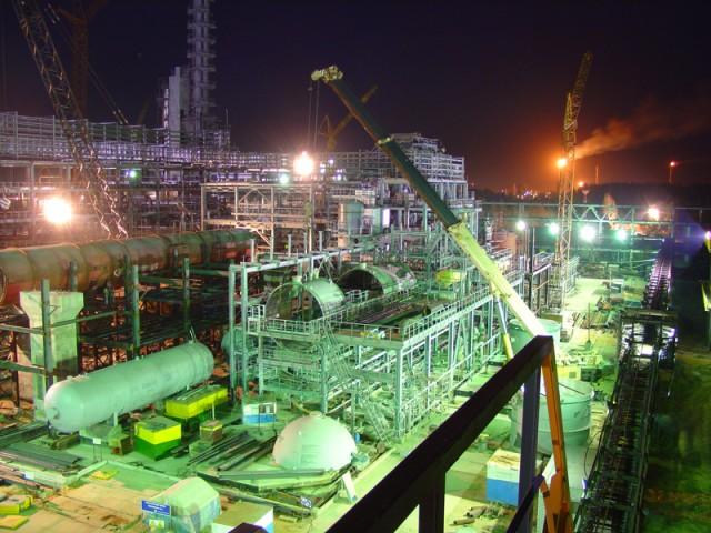Нефтезавод в Рязани