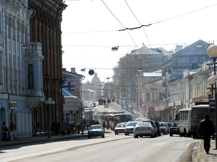Смог в Томске