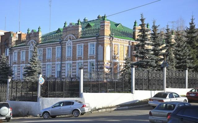 Старая застройка в Куйбышевском районе