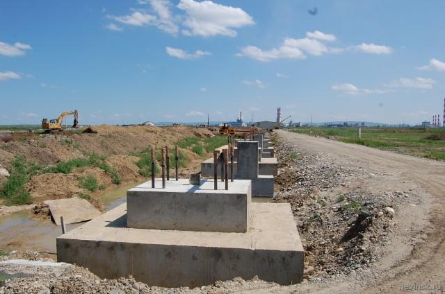 Строительство индустриального парка
