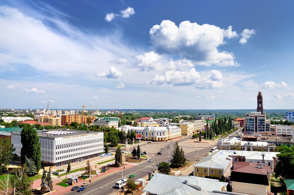 Город Тамбов: климат, экология, районы, экономика ...