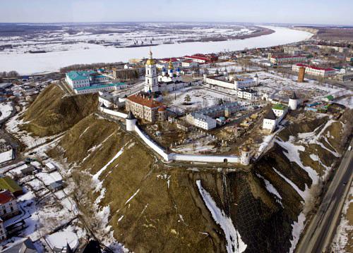 То самое фото Тобольского кремля, сделанное Д. Медведевым. Не правда ли этот вид перехватывает дыхание?
