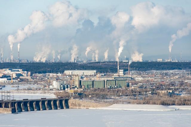 Тольятти зимой