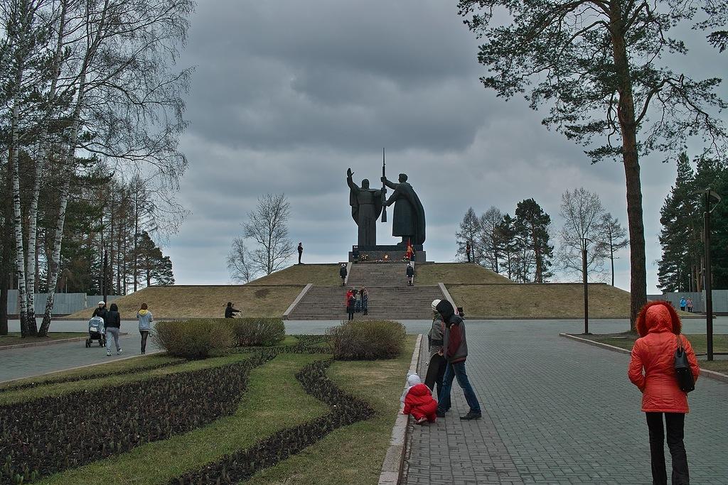 Вечный огонь в Томске