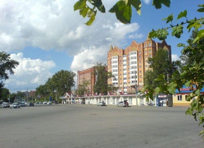 Томск. Площадь Южная