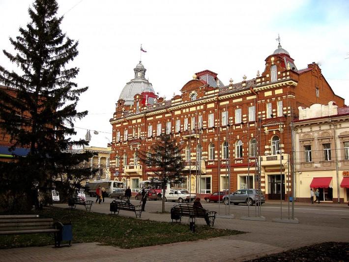 Томск. Здание городской администрации
